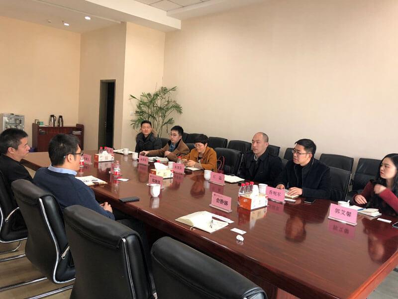 宁波金融资产管理股份有限公司石磊副总经理一行来访浙金中心