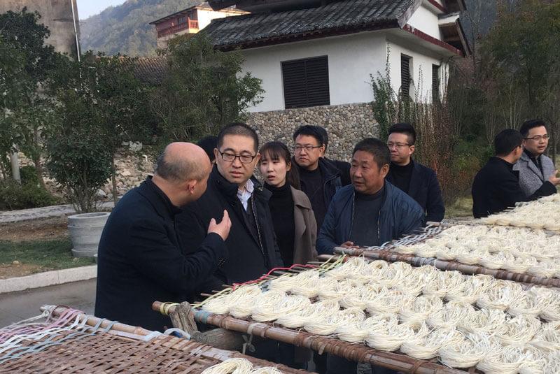 浙金中心党委书记李建中赴永嘉开展结对帮扶活动